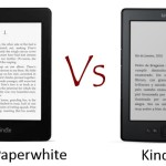 Comparativa Kindle Paperwhite vs Kindle 4